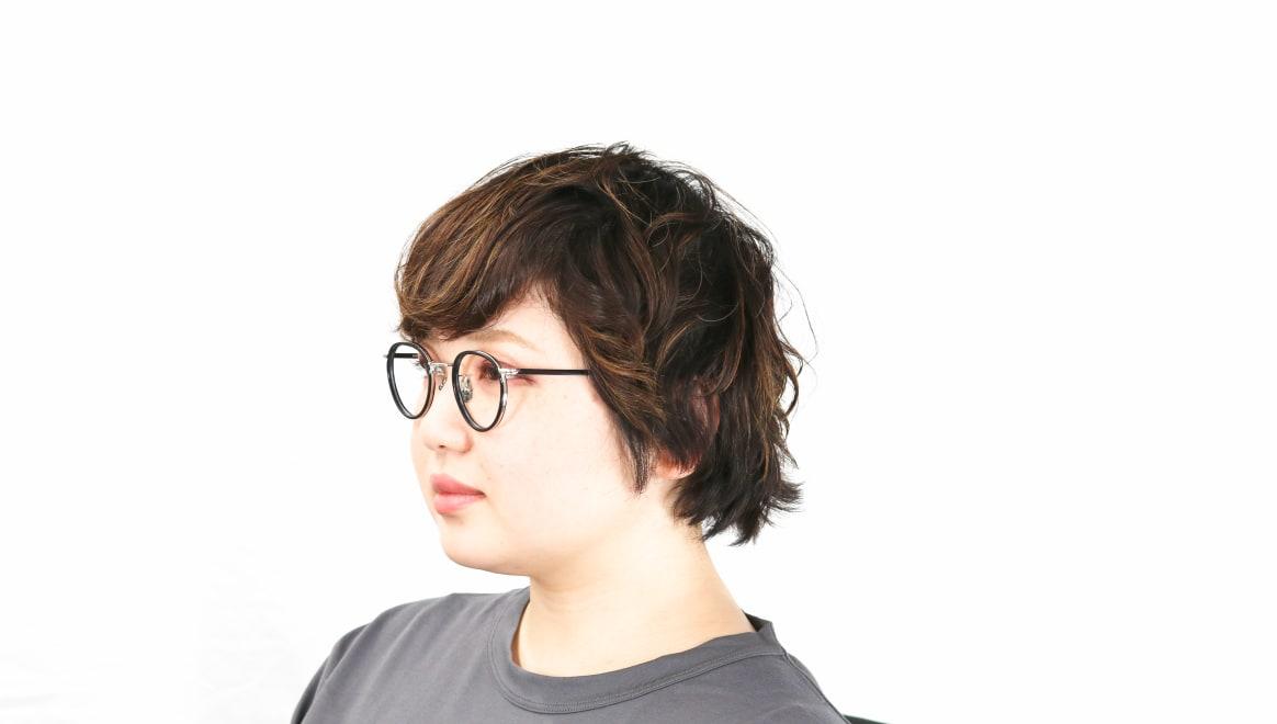 seem Oh My Glasses TOKYO Dexter omg-122-BKS-47 [黒縁/鯖江産/丸メガネ]  8