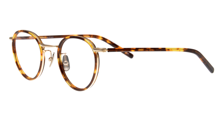 seem Oh My Glasses TOKYO Dexter omg-122-DM-47 [鯖江産/丸メガネ/べっ甲柄]  1