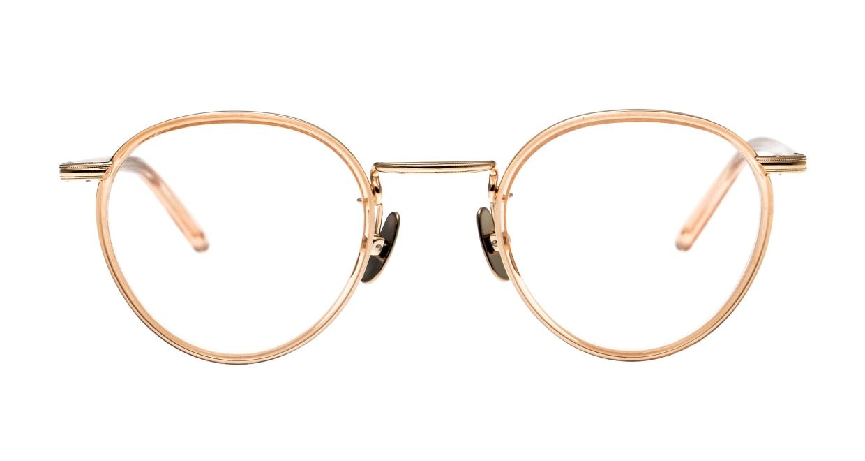 Oh My Glasses TOKYO Dexter omg-122-BR-47 [鯖江産/丸メガネ/ピンク]