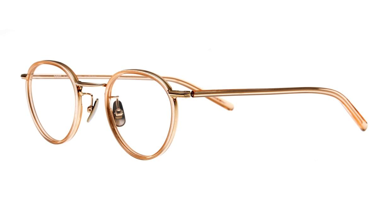 Oh My Glasses TOKYO Dexter omg-122-BR-47 [鯖江産/丸メガネ/ピンク]  1