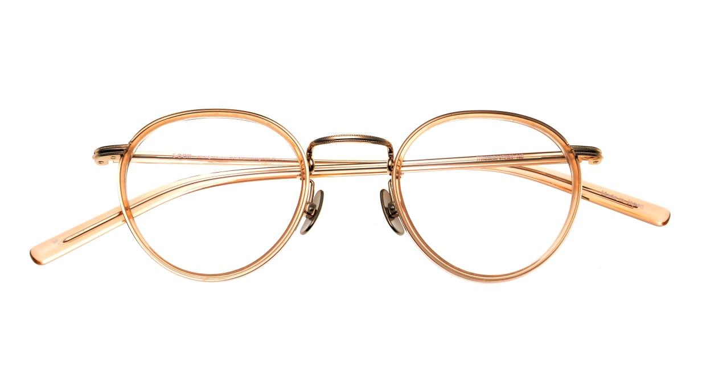 Oh My Glasses TOKYO Dexter omg-122-BR-47 [鯖江産/丸メガネ/ピンク]  4