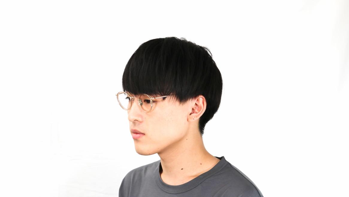 seem Oh My Glasses TOKYO Dexter omg-122-BR-47 [鯖江産/丸メガネ/ピンク]  6