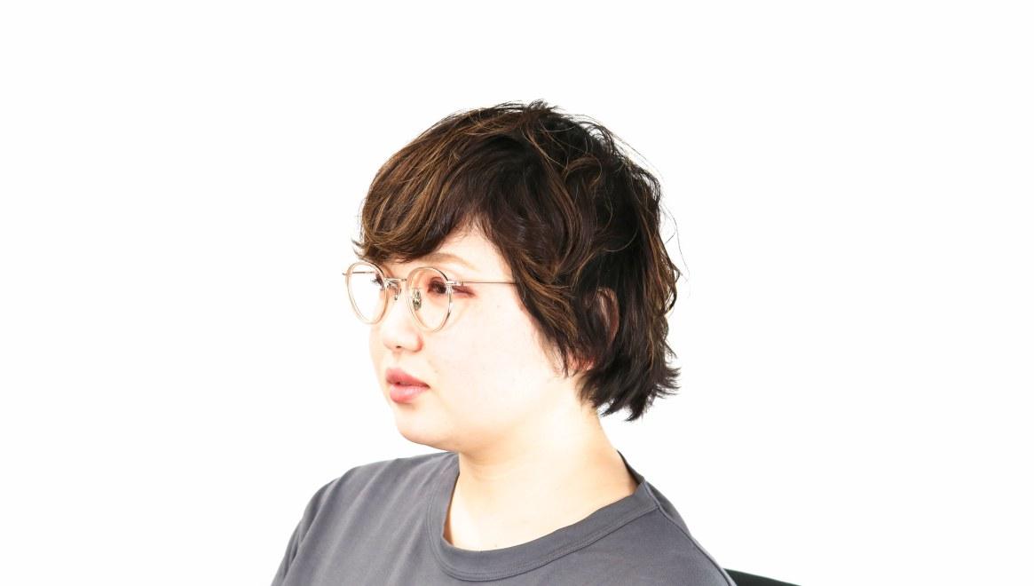 seem Oh My Glasses TOKYO Dexter omg-122-BR-47 [鯖江産/丸メガネ/ピンク]  8