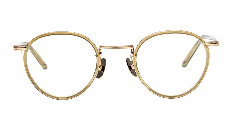 Oh My Glasses TOKYO Dexter omg-122-OL-47 [鯖江産/丸メガネ/緑]