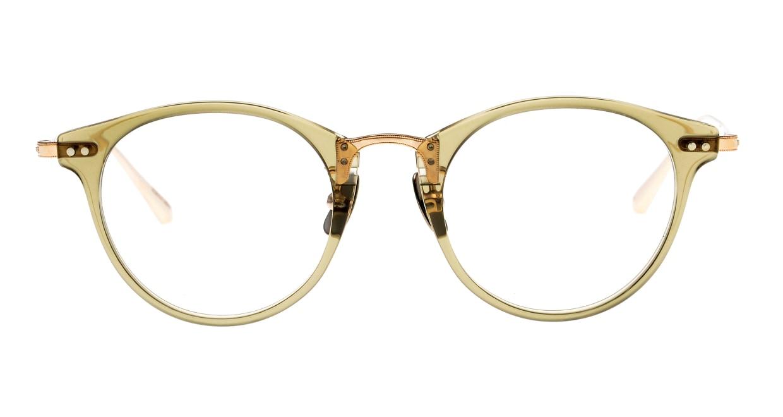 seem Oh My Glasses TOKYO Nina omg-121-OL-47 [鯖江産/丸メガネ/緑]