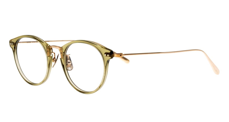 seem Oh My Glasses TOKYO Nina omg-121-OL-47 [鯖江産/丸メガネ/緑]  1