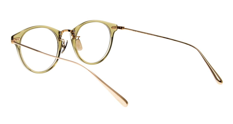 seem Oh My Glasses TOKYO Nina omg-121-OL-47 [鯖江産/丸メガネ/緑]  3