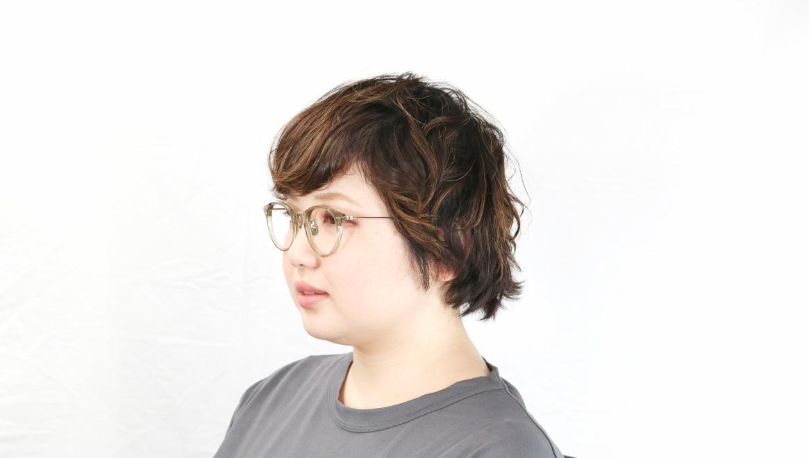 seem Oh My Glasses TOKYO Nina omg-121-OL-47 [鯖江産/丸メガネ/緑]  8