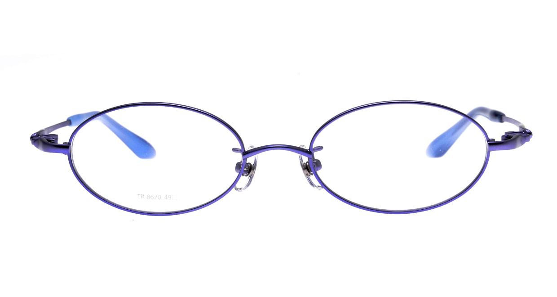 アミパリ TR-8620-13-49 [メタル/鯖江産/オーバル/紫]