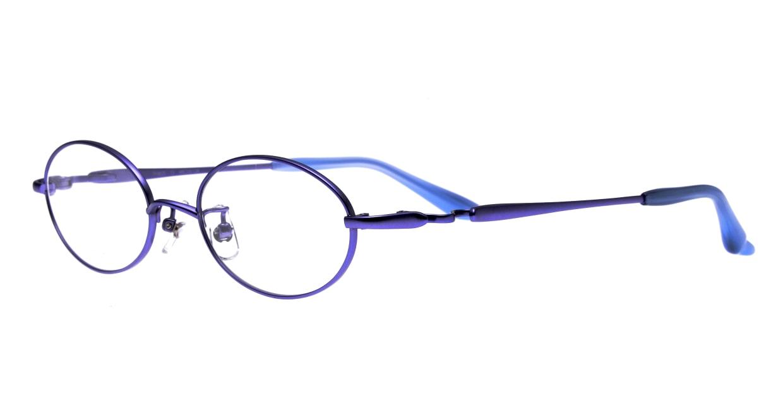 アミパリ TR-8620-13-49 [メタル/鯖江産/オーバル/紫]  1