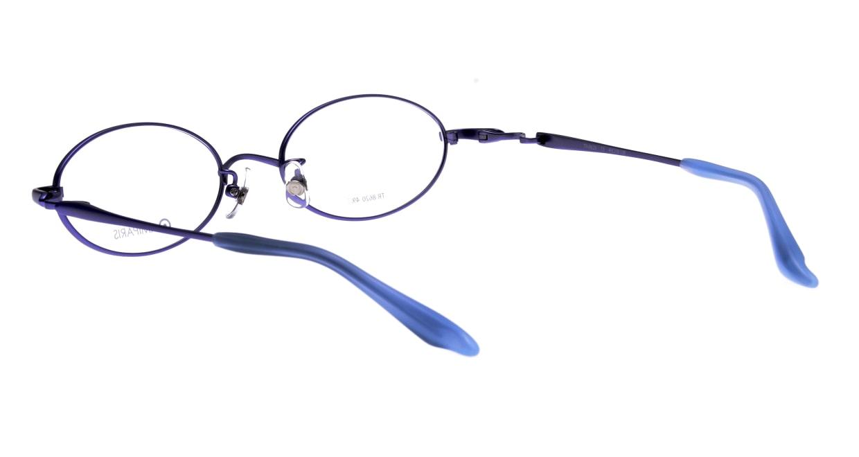 アミパリ TR-8620-13-49 [メタル/鯖江産/オーバル/紫]  3
