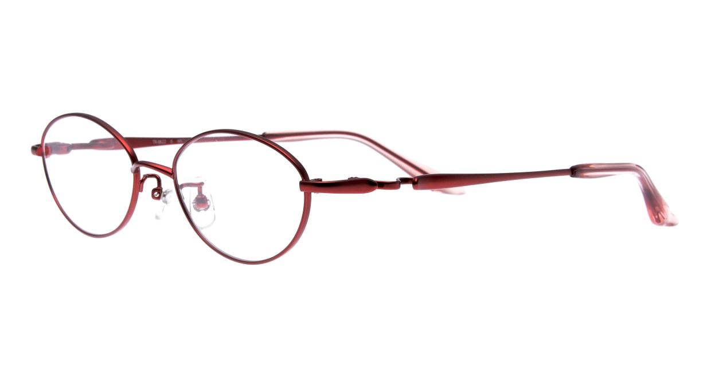 アミパリ TR-8622-6-48 [メタル/鯖江産/オーバル/赤]  1