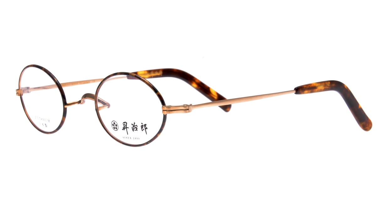 昇治郎 SJ-6005-GPD-43 [メタル/鯖江産/オーバル/茶色]  1
