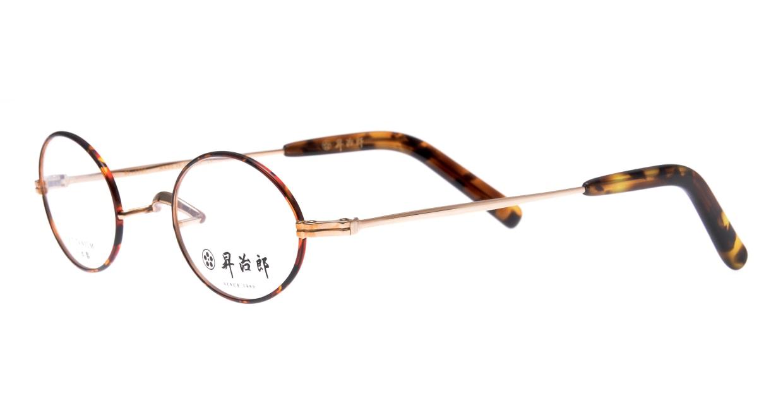 昇治郎 SJ-6005-GPBD-43 [メタル/鯖江産/オーバル/べっ甲柄]  1