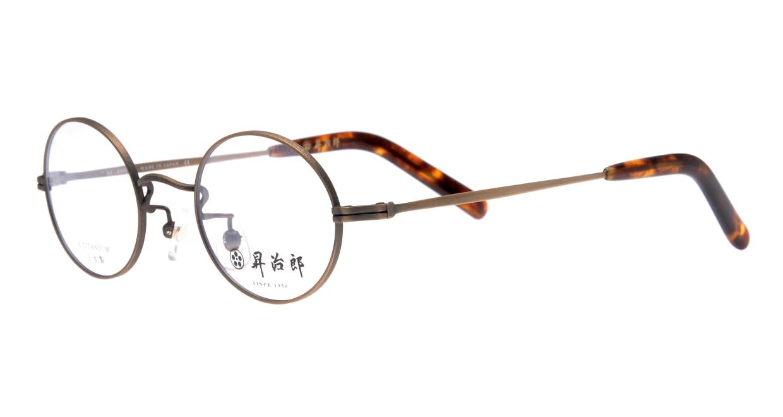 昇治郎 SJ-6007-ATB-44 [メタル/鯖江産/丸メガネ/グレー]  1