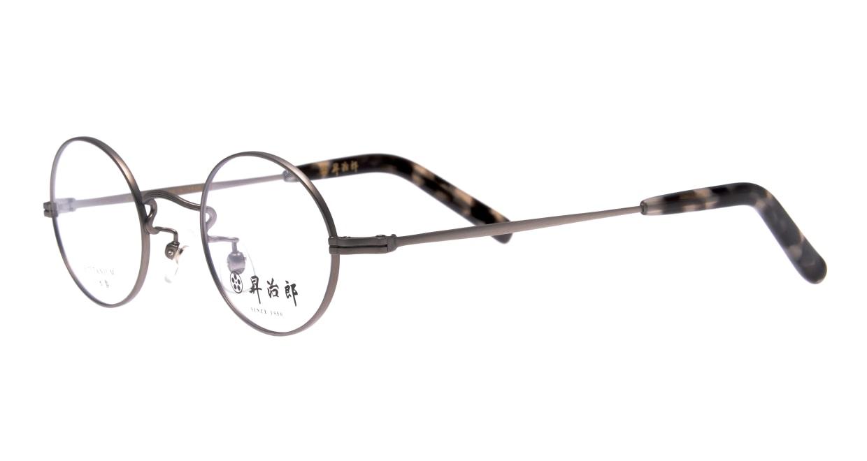 昇治郎 SJ-6007-ATS-44 [メタル/鯖江産/丸メガネ/シルバー]  1