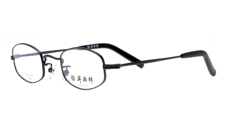 昇治郎 SJ-6008-BK-45 [メタル/鯖江産/スクエア]  1