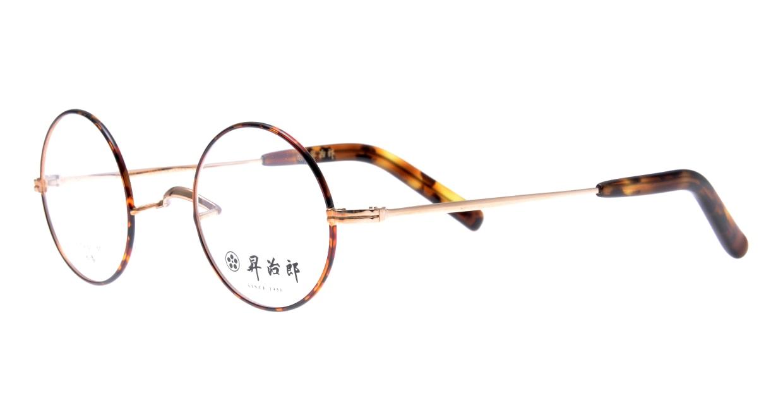 昇治郎 SJ-6009-GPBD-42 [メタル/鯖江産/丸メガネ/べっ甲柄]  1