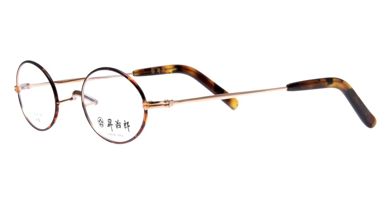 昇治郎SJ-6012-GPBD-45 [メタル/鯖江産/オーバル/べっ甲柄]  1