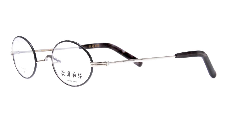 昇治郎 SJ-6012-SID-45 [メタル/鯖江産/オーバル/グレー]  1