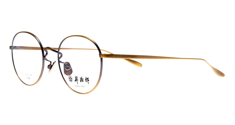 昇治郎 SJ-6015-ATG-48 [メタル/鯖江産/丸メガネ/ゴールド]  1