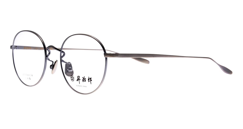 昇治郎 SJ-6015-ATS-48 [メタル/鯖江産/丸メガネ/シルバー]  1