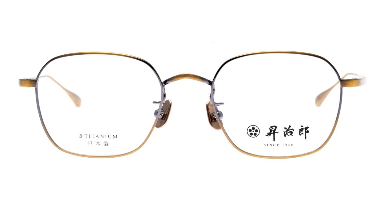 昇治郎 SJ-6016-ATG-48 [メタル/鯖江産/ウェリントン/ゴールド]
