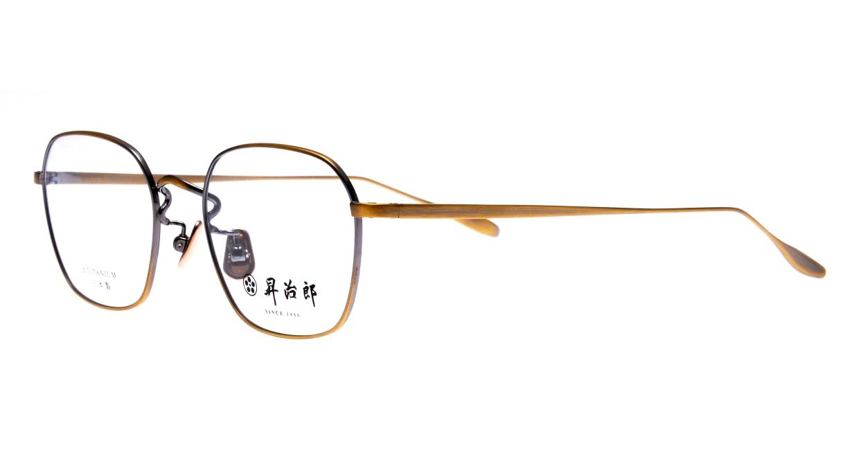 昇治郎 SJ-6016-ATG-48 [メタル/鯖江産/ウェリントン/ゴールド]  1