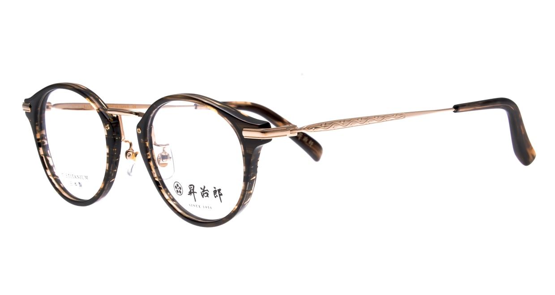 昇治郎 SJ-6103-BRS-47 [鯖江産/丸メガネ/グレー]  1