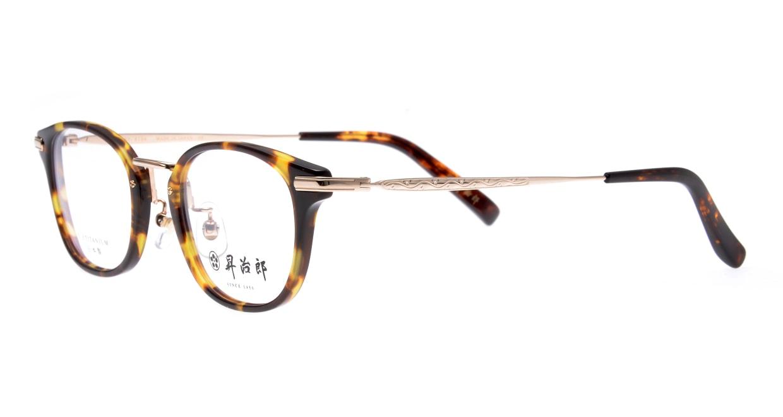 昇治郎 SJ-6104-BRD-48 [鯖江産/ウェリントン/べっ甲柄]  1