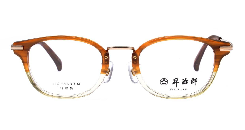 昇治郎 SJ-6104-BRH-48 [鯖江産/ウェリントン/派手]