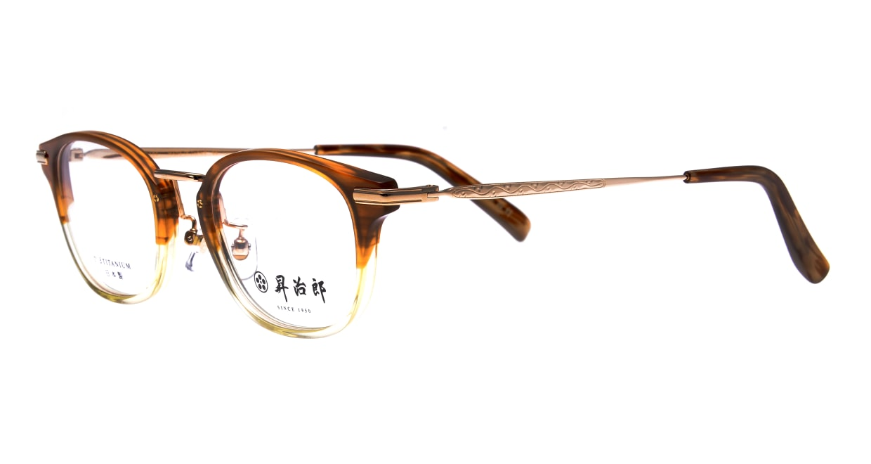 昇治郎 SJ-6104-BRH-48 [鯖江産/ウェリントン/派手]  1