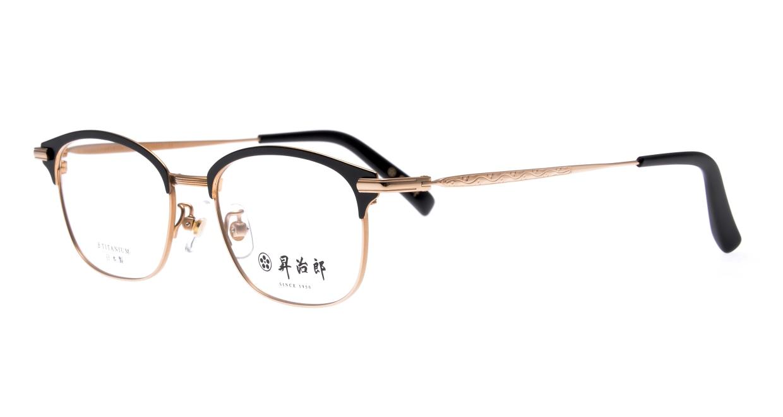 昇治郎 SJ-6106-G/BK-51 [メタル/鯖江産/ウェリントン]  1