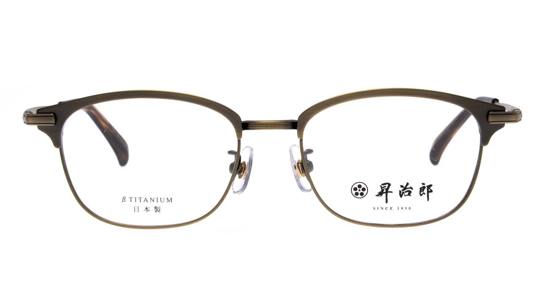昇治郎 SJ-6106-ATGP-51 [メタル/鯖江産/ウェリントン/ゴールド]