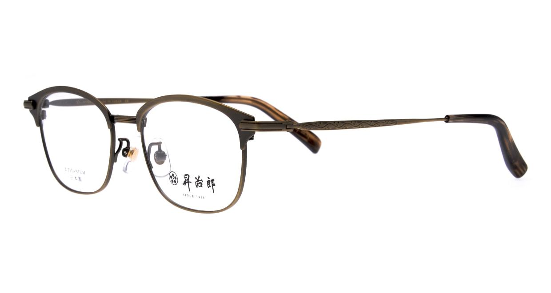 昇治郎 SJ-6106-ATGP-51 [メタル/鯖江産/ウェリントン/ゴールド]  1