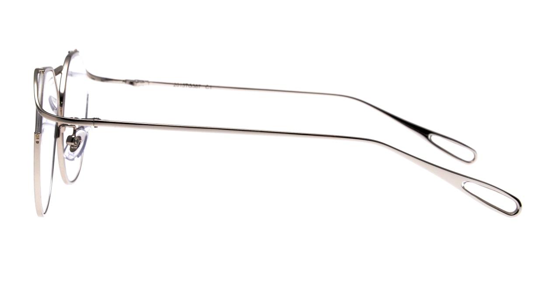 モンキーフリップ2015TG387-1 [メタル/丸メガネ/シルバー]  2