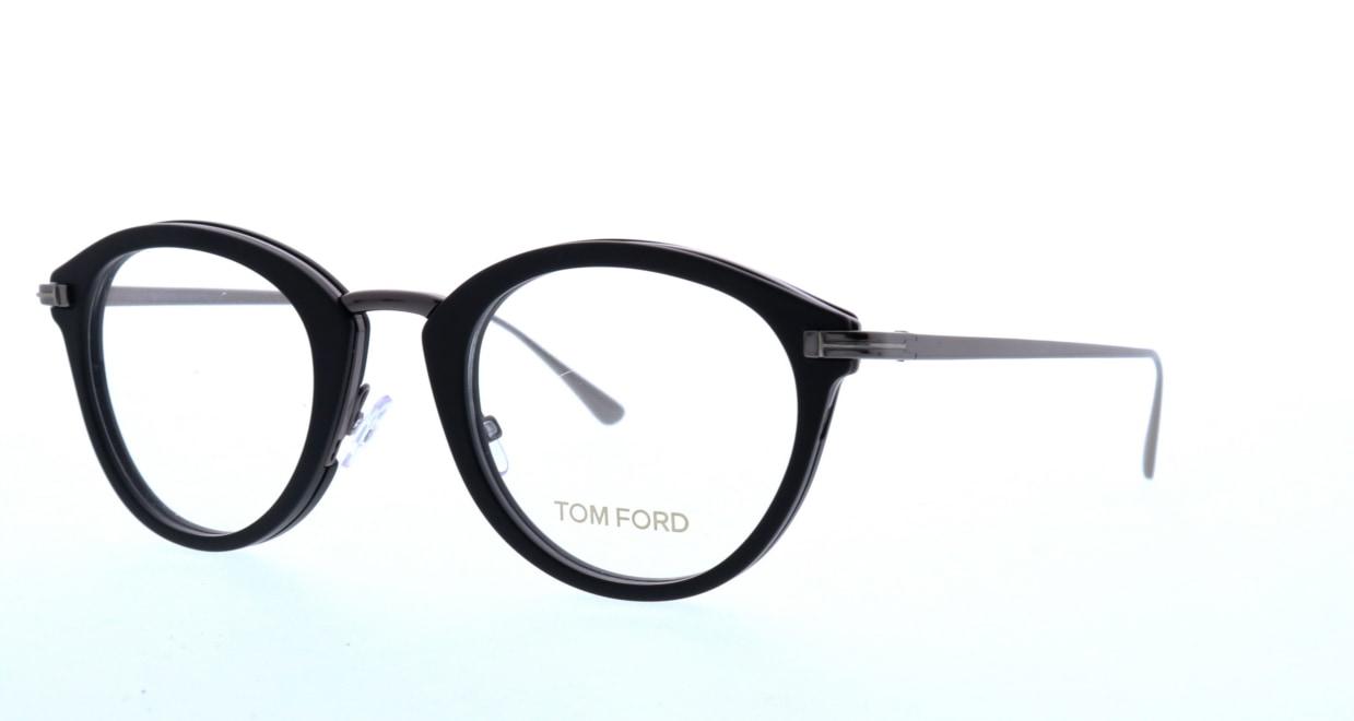 トムフォード FT5497-002-48 [黒縁/丸メガネ]  1