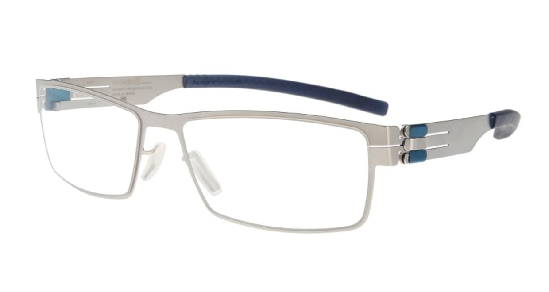 アイシーベルリン Peter C. (flex) -pearl -electric powder blue -clear [メタル/ウェリントン/シルバー]