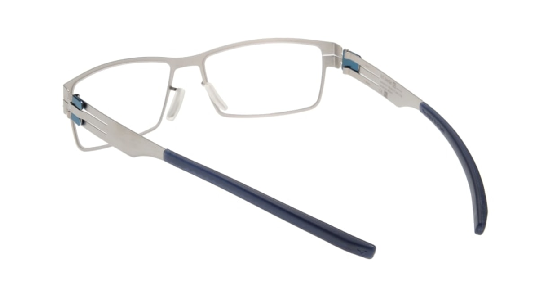 アイシーベルリン Peter C. (flex) -pearl -electric powder blue -clear [メタル/ウェリントン/シルバー]  2