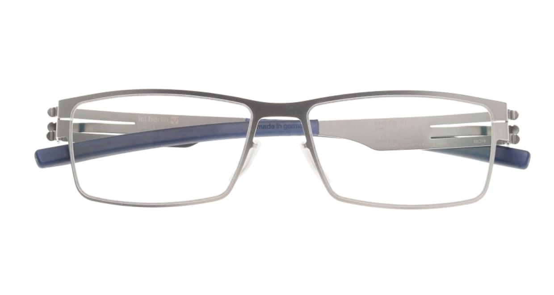 アイシーベルリン Peter C. (flex) -pearl -electric powder blue -clear [メタル/ウェリントン/シルバー]  3