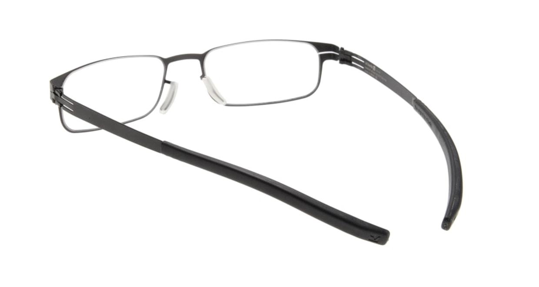 アイシーベルリン gabriel (flex)-black-clear [メタル/スクエア]  2