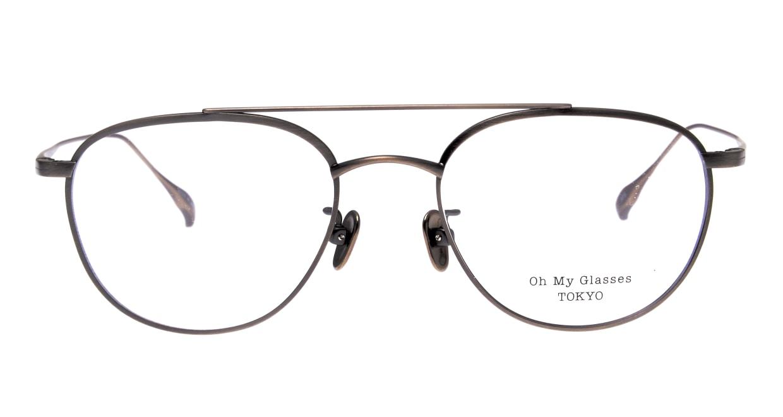 Oh My Glasses TOKYO Herbie-omg-123ーATSー50 [メタル/鯖江産/ティアドロップ/シルバー]