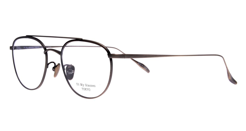 Oh My Glasses TOKYO Herbie-omg-123ーATSー50 [メタル/鯖江産/ティアドロップ/シルバー]  1