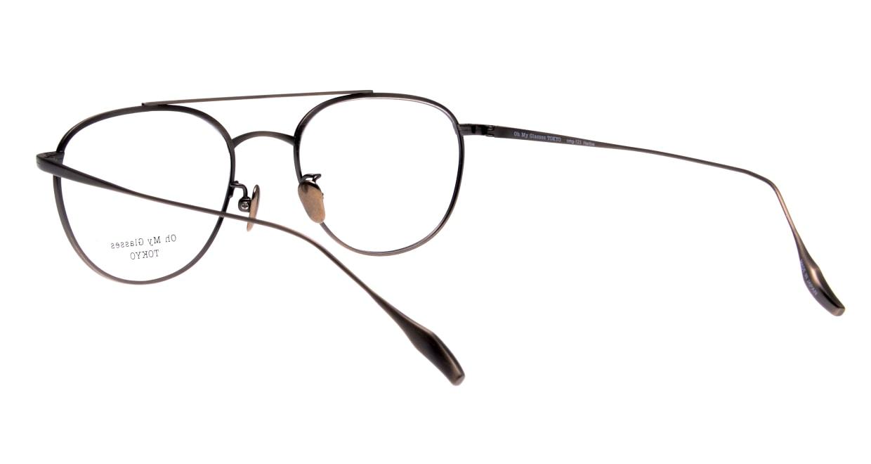 Oh My Glasses TOKYO Herbie-omg-123ーATSー50 [メタル/鯖江産/ティアドロップ/シルバー]  3