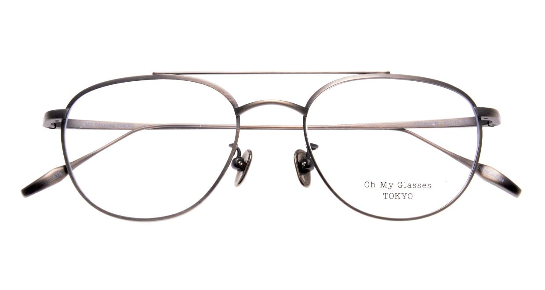 Oh My Glasses TOKYO Herbie-omg-123ーATSー50 [メタル/鯖江産/ティアドロップ/シルバー]  4