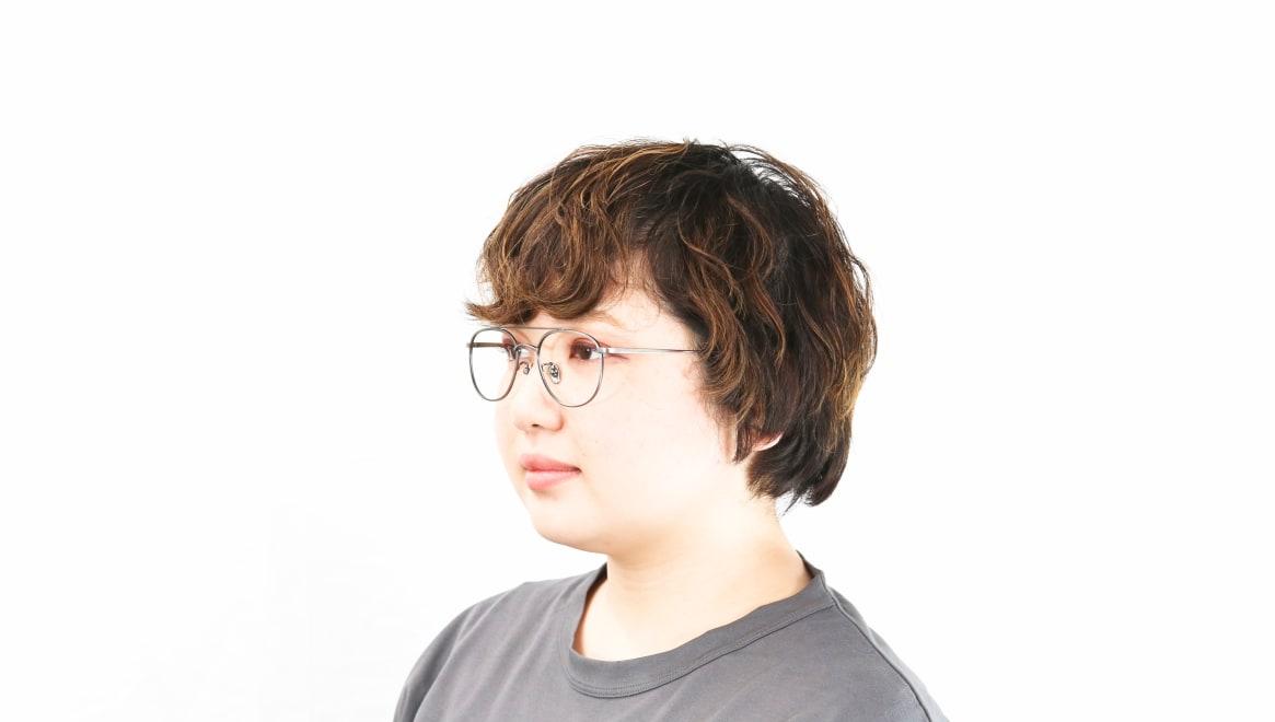 Oh My Glasses TOKYO Herbie omg-123-ATS-50 [メタル/鯖江産/ティアドロップ/シルバー]  8