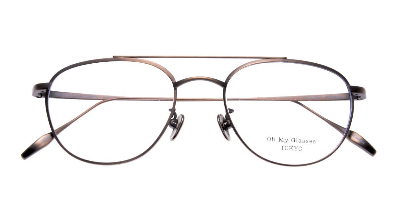 Oh My Glasses TOKYO Herbie omg-123-ATBR-50 [メタル/鯖江産/ティアドロップ/茶色]  4