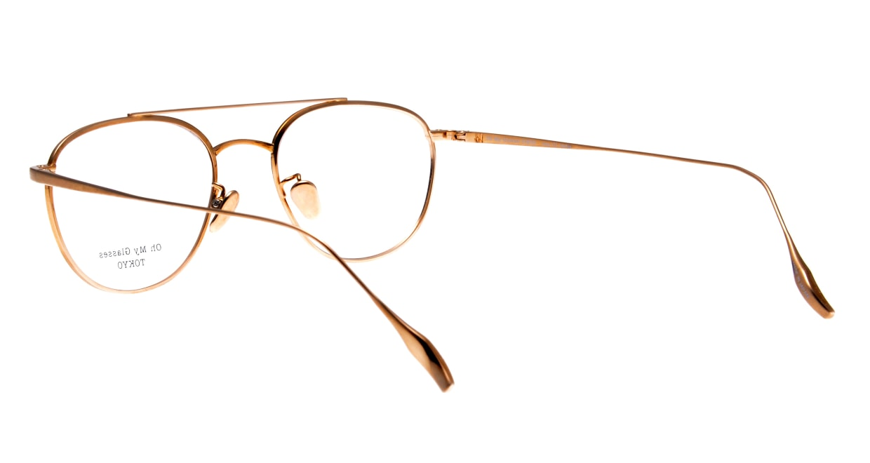 Oh My Glasses TOKYO Herbie-omg-123ーDMー50 [メタル/鯖江産/ティアドロップ/べっ甲柄]  3