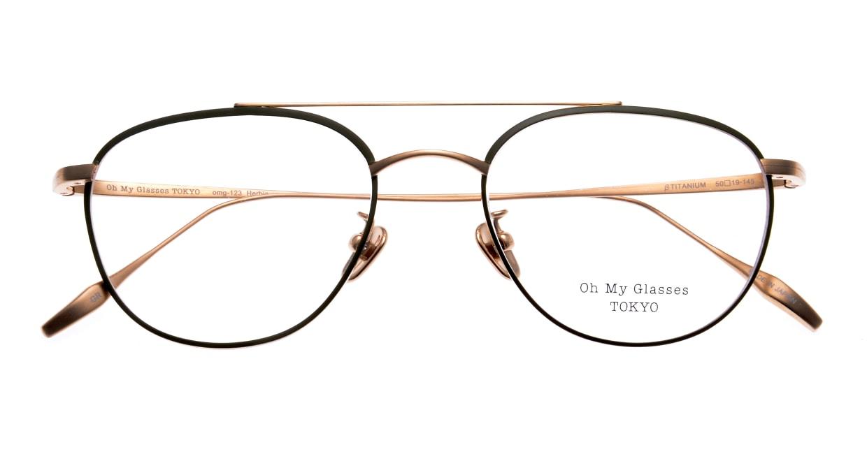 Oh My Glasses TOKYO Herbie-omg-123ーGRー50 [メタル/鯖江産/ティアドロップ/緑]  4