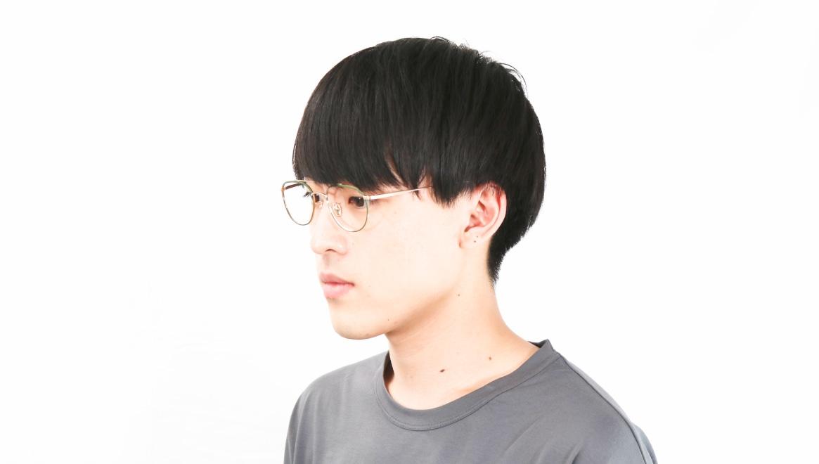 Oh My Glasses TOKYO Herbie-omg-123ーGRー50 [メタル/鯖江産/ティアドロップ/緑]  6